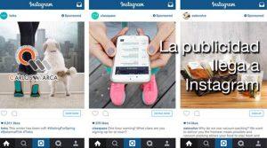 La publicidad llega a Instagram