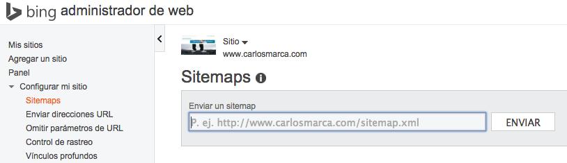 como indezar una nueva web wordpress