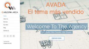 Avada es el tema más vendido de WordPress