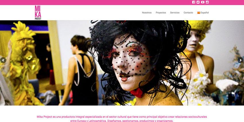 mika project web realizada por carlosmarca wordpress