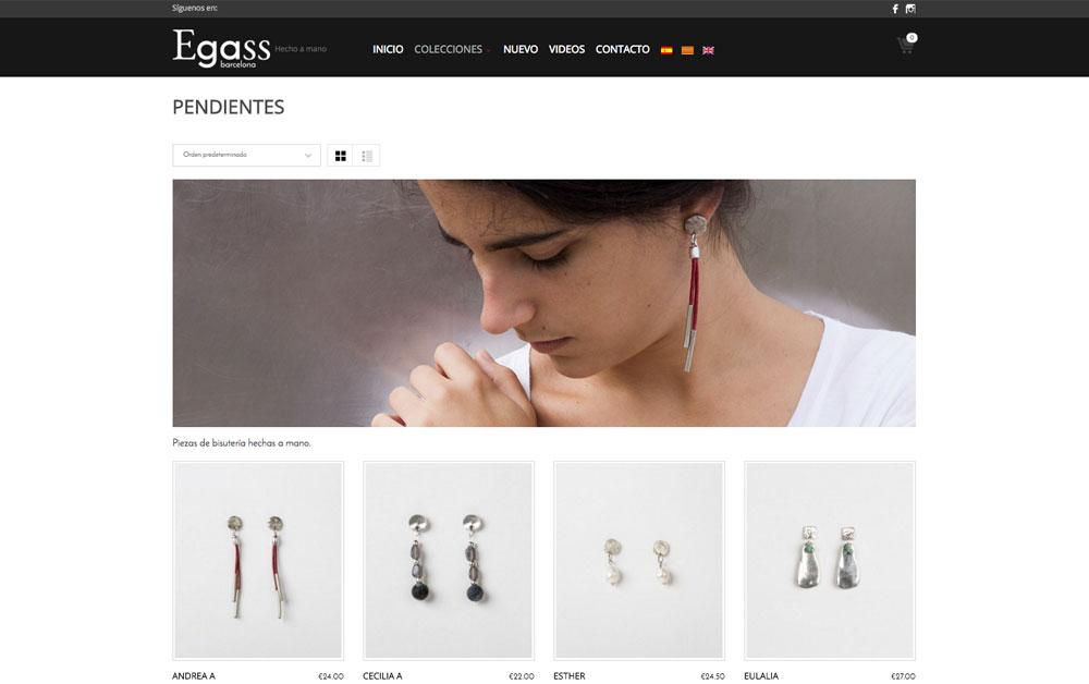 egass barcelona web realizada por carlosmarca wordpress