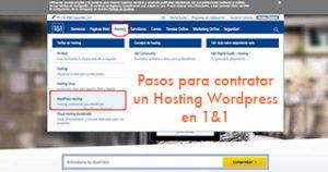 Pasos para contratar un Hosting WordPress en IONOS (2020)