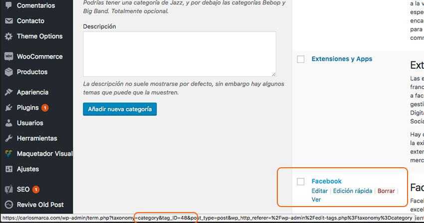 como-saber-el-id-de-una-pagina-categoria-etiqueta-de-wordpress-carlosmarca