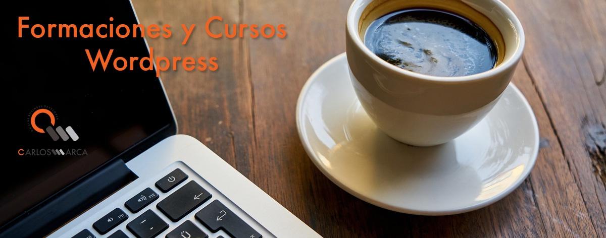 Formaciones y Cursos Wordpress en Barcelona