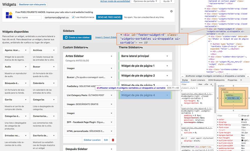 ID-de-un-widget-como-saber-el-id-de-una-pagina-carlosmarca