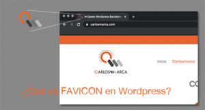 ¿Qué es Favicon en WordPress?