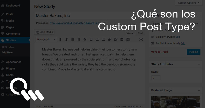 ¿Qué son los Custom Post Type?